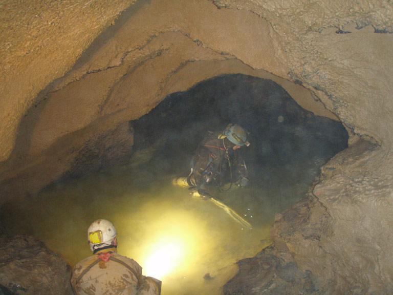 Plongée du Siphon S1