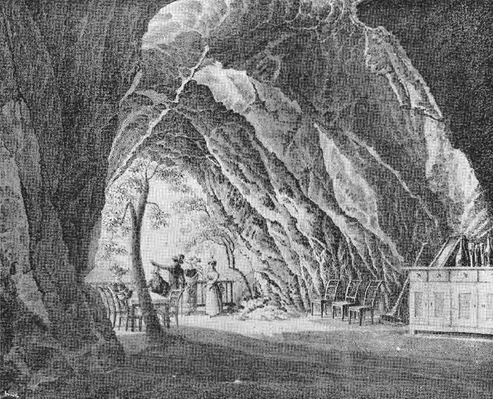 Gravure du XVIII siècle