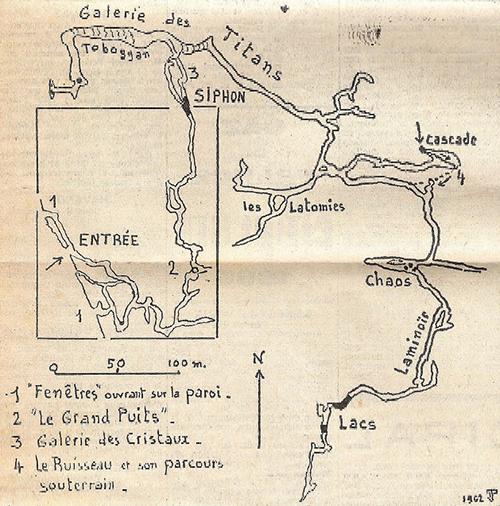 Topographie de 1962 incorporant celle de 1879
