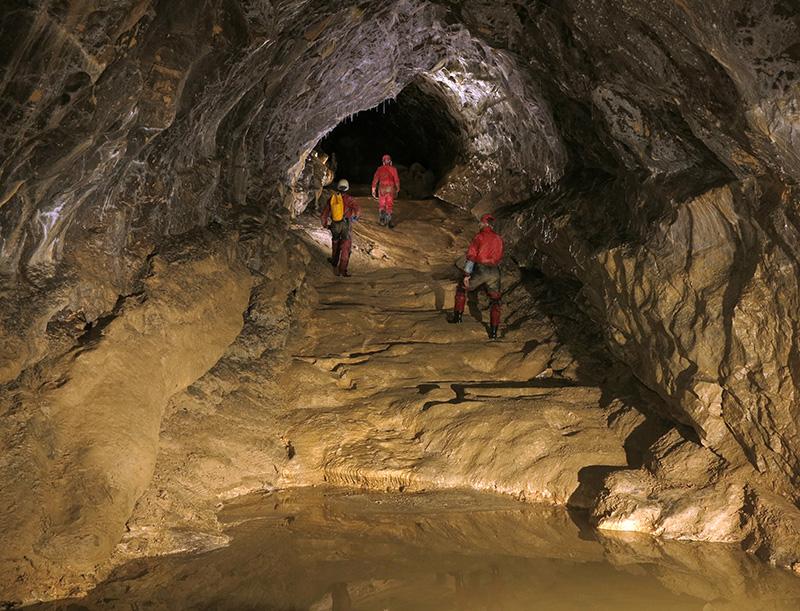 Grotte de Balme - Galerie des Titans (Photo P. Bosted)
